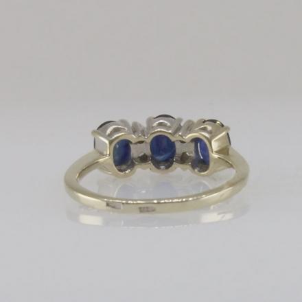золотое кольцо с сапфиром золото