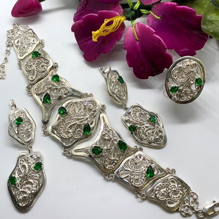 браслеты серебро каталог