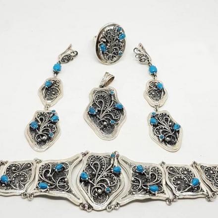 браслеты +из серебра женские