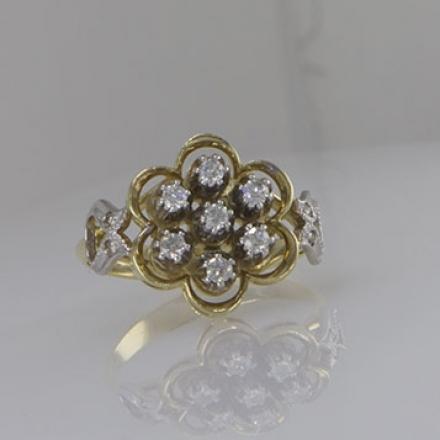 бриллиантовое кольцо купить