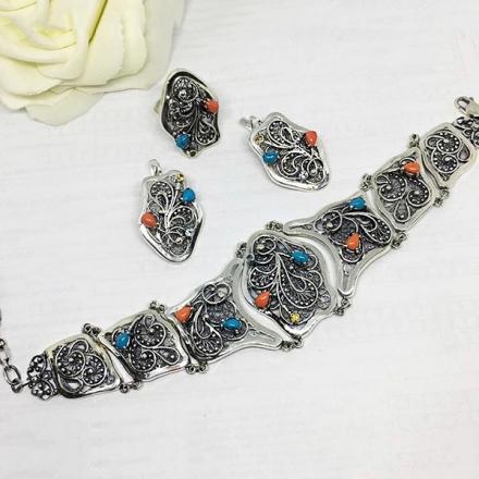 браслет ювелирный женский серебро