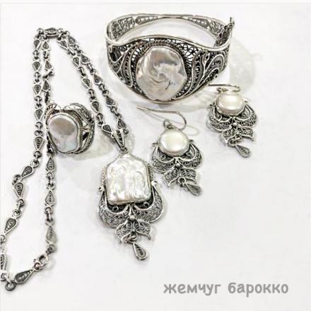 серебро +с камнями ручной работы