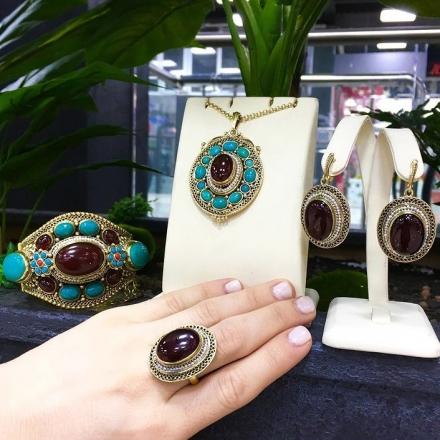 купить кольцо +с сердоликом натуральным