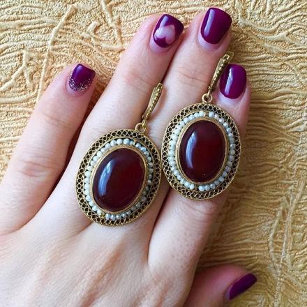 кольцо +с сердоликом купить