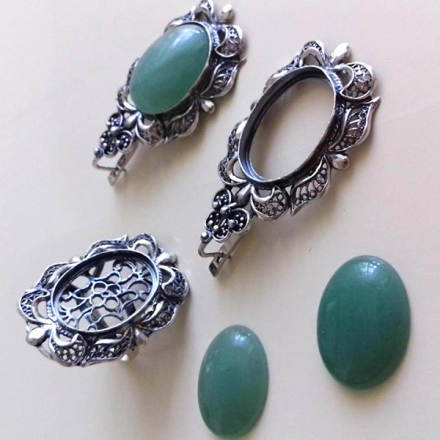 купить кольцо +с танзанитом натуральным +в серебре
