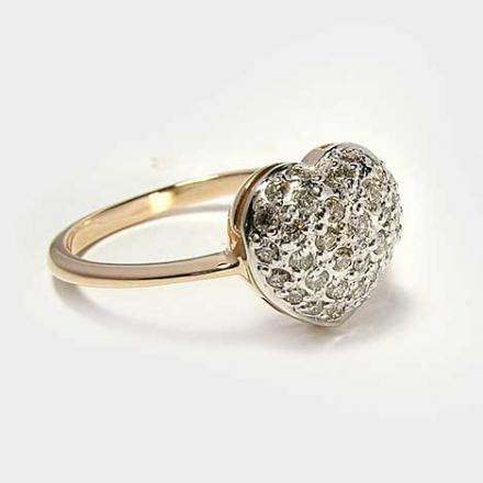 кольца сердце фото