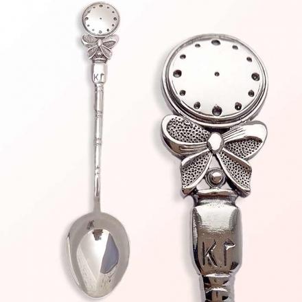 серебряная ложка часы