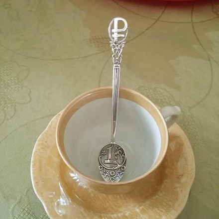 серебряная ложка 1 рубль