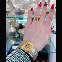 Дагестанский серебряный браслет для женщин