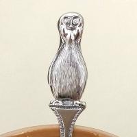 """Ложка из серебра """"Пингвиненок"""""""