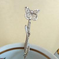 Ложка  серебряная Бабочка