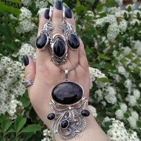 Серебро с натуральными камнями
