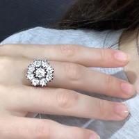 Серебряное кольцо Малинка
