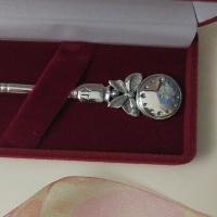 серебряные ложки +с часами