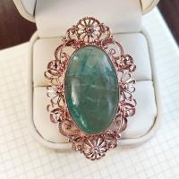 кольцо +с флюоритом +в серебре купить