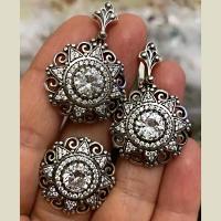 Серьги+ кольцо серебряные