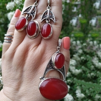 браслеты ручной работы +из натуральных камней