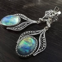 Серьги+кольцо с жемчугом в серебре