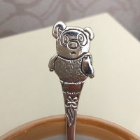 Детская чайная ложка из серебра Винни Пух