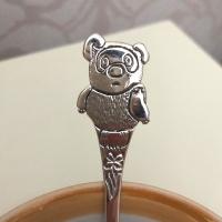 """Детская чайная ложка из серебра """"Винни Пух"""""""