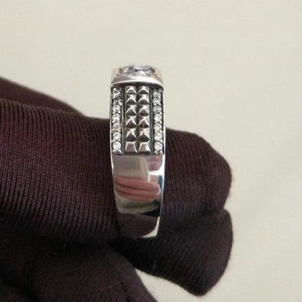 мусульманский перстень мужской серебро
