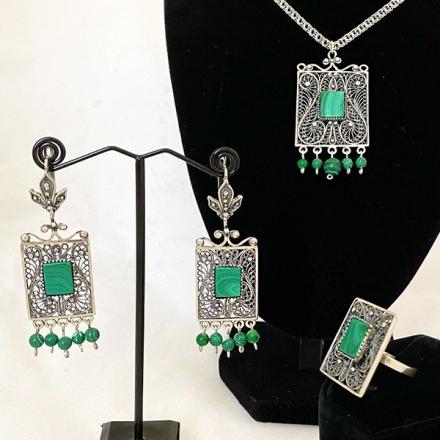 купить украшения армянское серебро