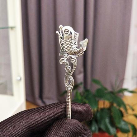 золотая рыбка серебро