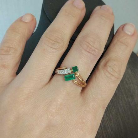 кольцо с бриллиантом +до 20000 рублей