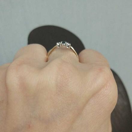 кольцо  с сапфиром купить +в интернете