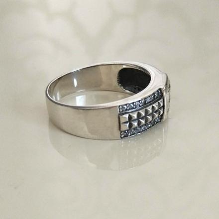 кольцо мужское черное купить