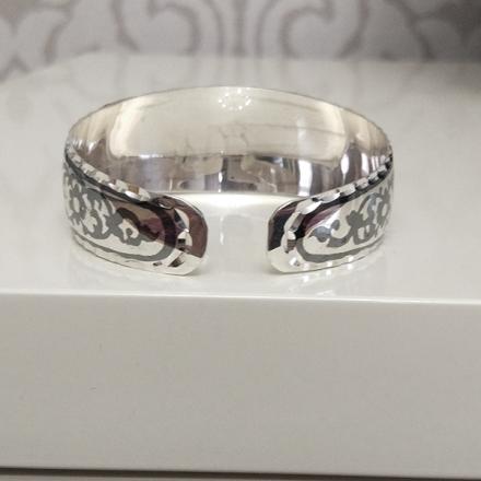 кубачинские серебряные браслеты