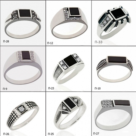 серебряное кольцо +с гранатами