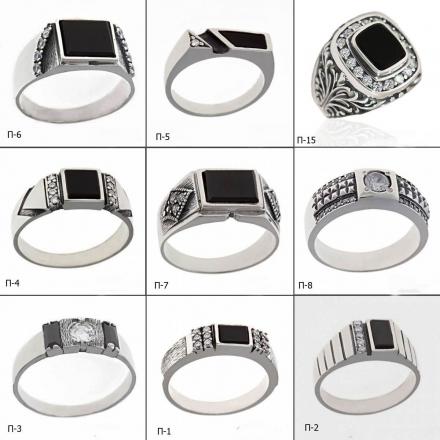 ювелирные изделия каталог мужские кольца