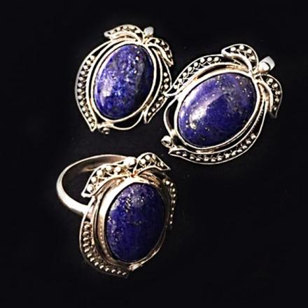 серебряные серьги +с камнями купить