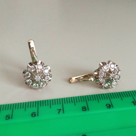 малина комплект бриллиантовый