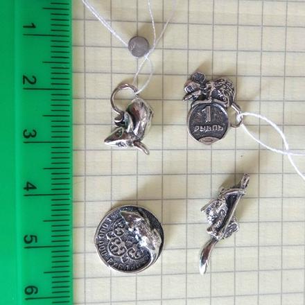 кошельковая мышь +из серебра