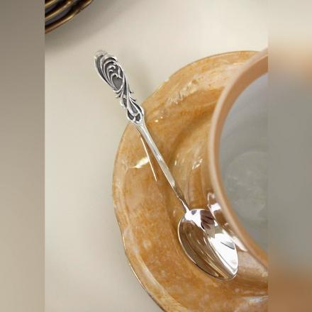 купить набор чайных ложек серебряных