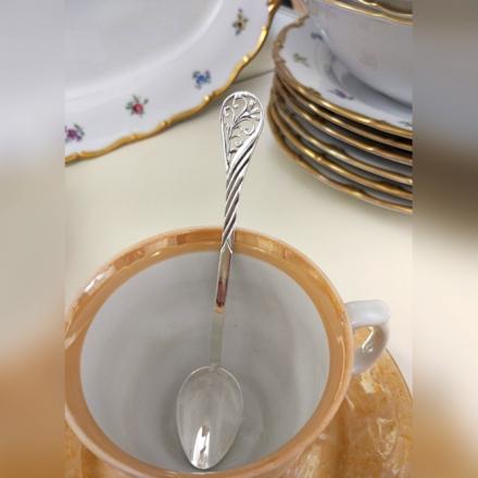 купить серебряную чайную ложку в интернет магазине