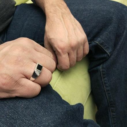 серебряные мужские перстни печатки купить +в москве