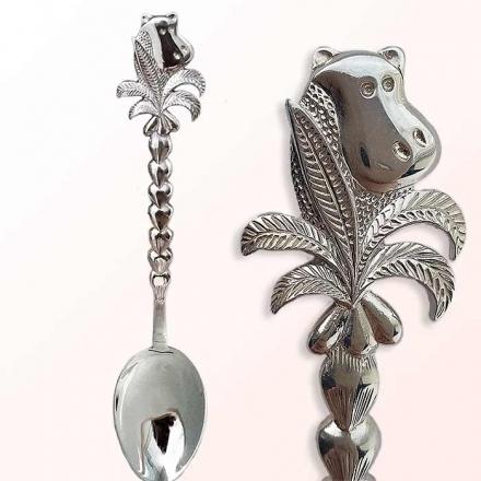 серебряная ложка +для ребенка купить  в москве