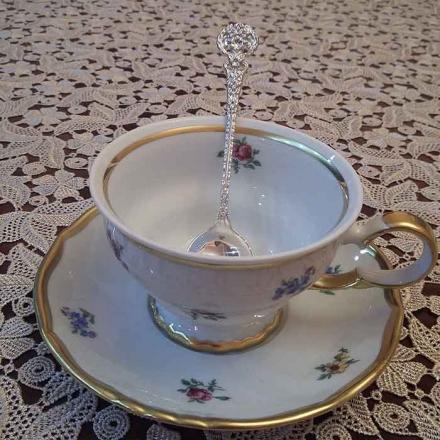 ложка чайная серебро 925