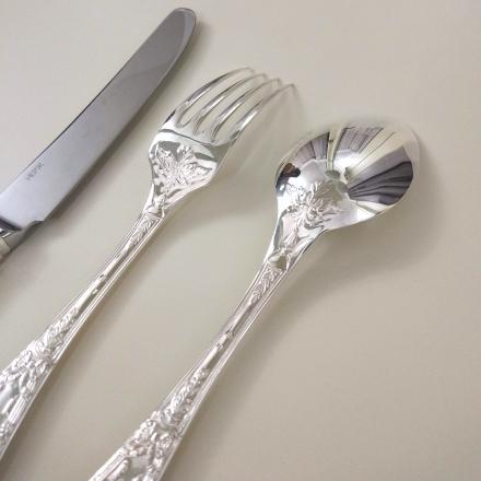 серебряные вилки купить