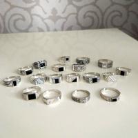 мужской перстень с аметистом серебро купить в москве
