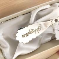 Серьги+кольцо с барочным жемчугом