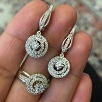 Серьги и  кольца маленькие
