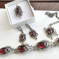 украшения +из камней натуральных интернет серебро