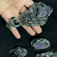 Украшения с крупными натуральными камнями