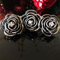 Комплект из серебра Розы