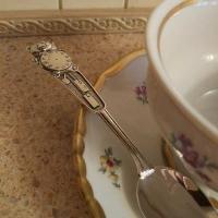 ложка серебряная детская москва