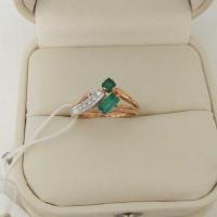 кольцо с бриллиантом 20000